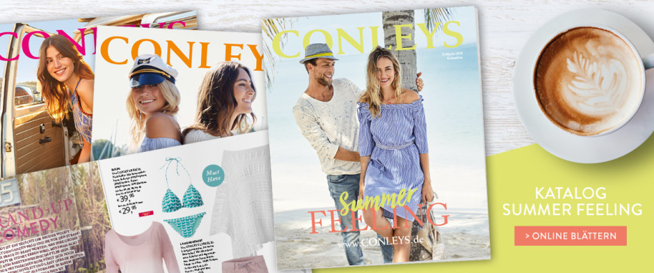 Blättern Sie Im Katalog Mode Auf Vielen Seiten Bei Conleys
