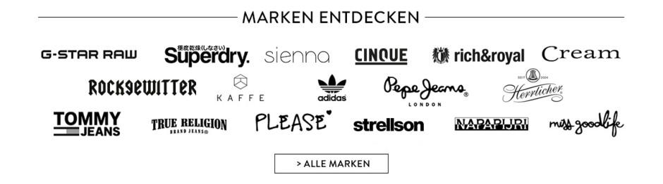Französische Kleidermarken